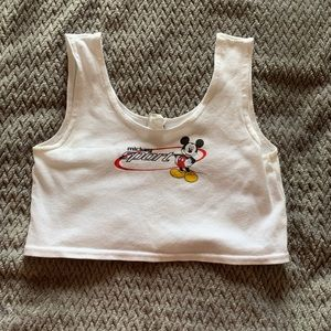 Other - Mickey sports logo sports bra